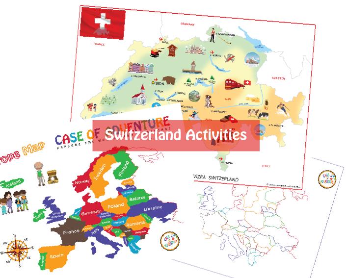 Destination Switzerland Unit Study (Downloadable) - Case of Adventure