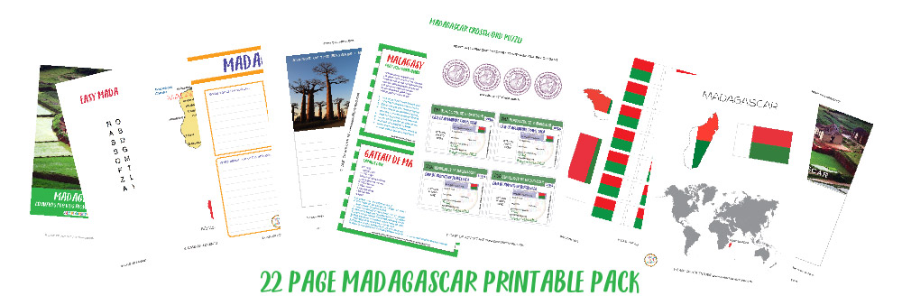 Free Madagascar Printables - CASE OF ADVENTURE - Countries for Kids